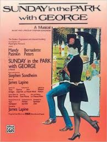 Sunday in the Park with George Vocal Score - Signed by Stephen Sondheim!