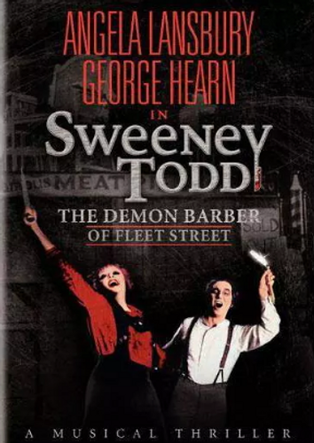 Sweeney Todd Live DVD (1982)
