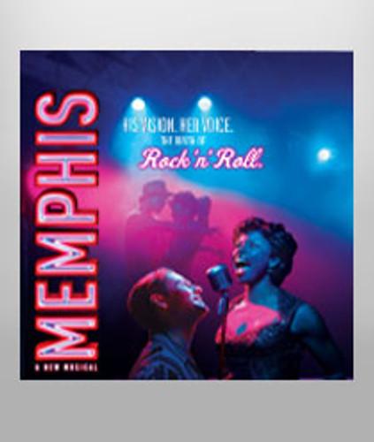 Memphis Cast Recording CD