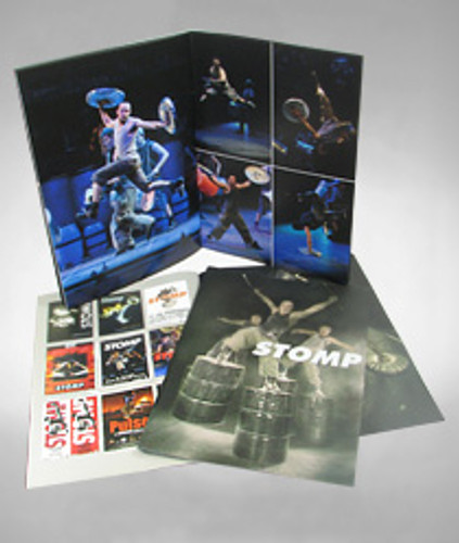 Stomp Souvenir Program