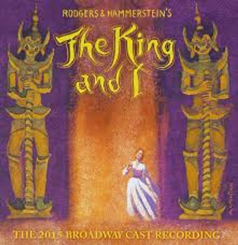 The King and I Revival Cast Recording CD