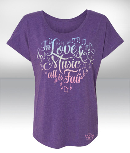 The Band's Visit Love & Music Ladies' Dolman