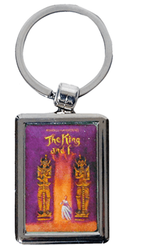The King and I Keychain (Broadway)