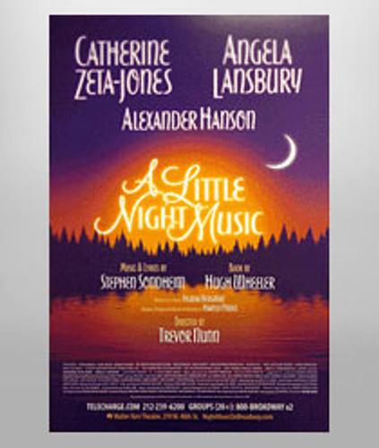 A Little Night Music Poster - Zeta-Jones & Lansbury