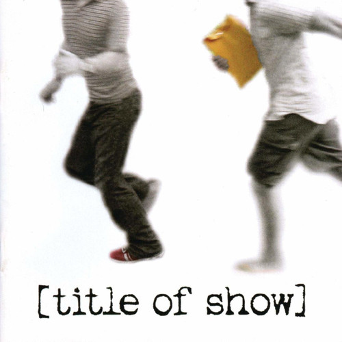 Title of Show Cast Recording CD