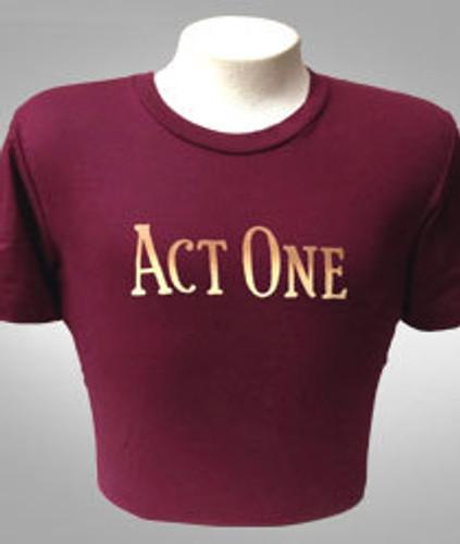 Act One Logo Tee - Unisex