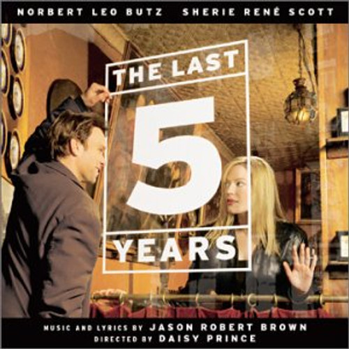 The Last 5 Years Cast Recording CD