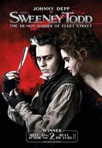 Sweeney Todd DVD (Film, 2007)