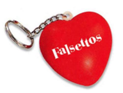 Falsettos Keychain