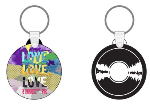Love, Love, Love - Keychain