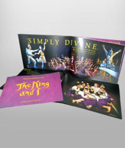 King & I Souvenir Program (Broadway)