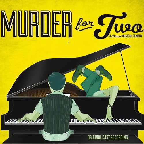 Murder for Two Cast Recording CD