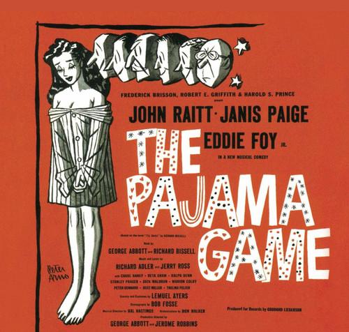 The Pajama Game Cast Recording CD