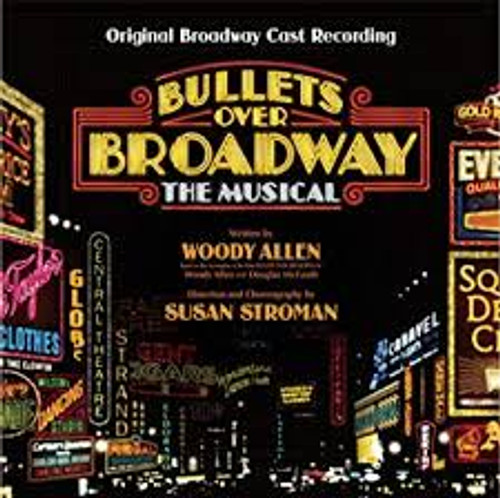 Bullets Over Broadway Cast Recording CD