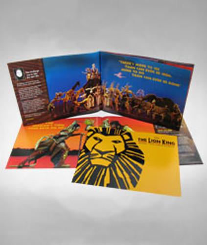 The Lion King Souvenir Program
