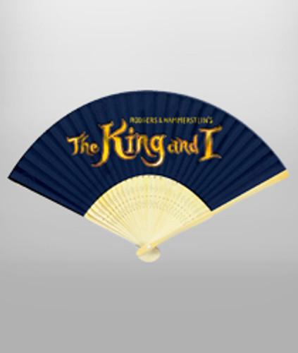 The King & I Hand Fan