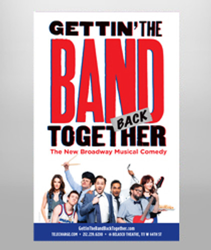 Gettin' the Band Back Together - Poster