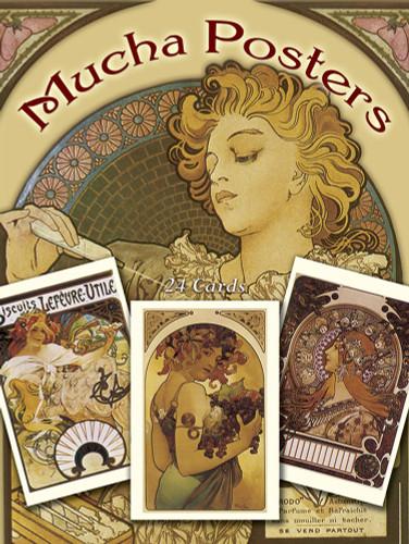 Bernhardt/Hamlet Mucha Posters Postcards