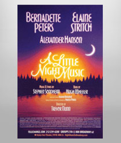 A Little Night Music Poster - Peters & Stritch
