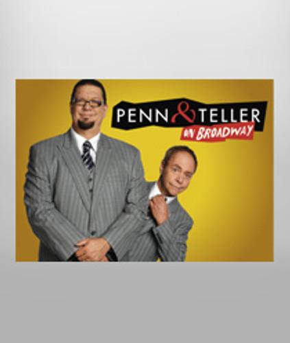 Penn & Teller Magnet