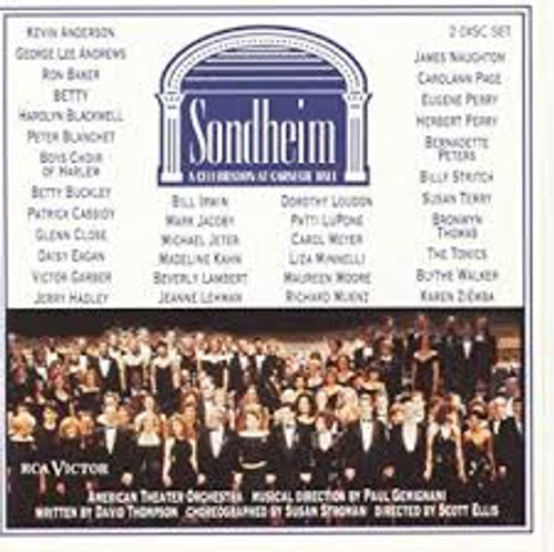 Sondheim: A Celebration at Carnegie Hall CD