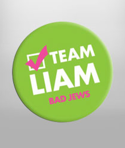 Team Liam Button