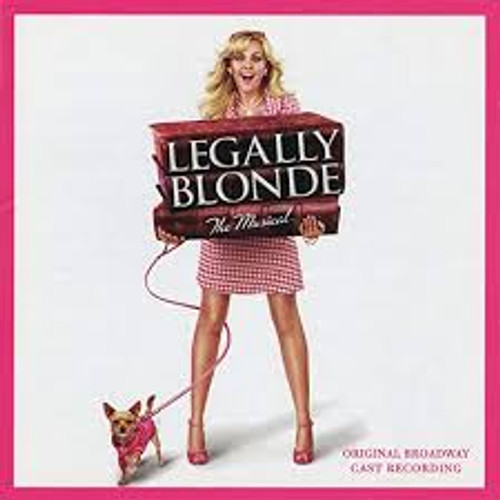 Legally Blonde Cast Recording CD