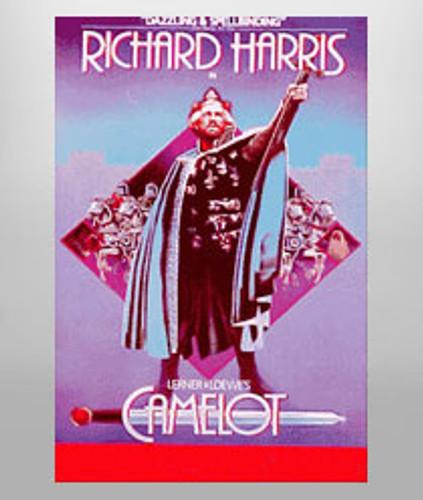 Camelot Poster (Richard Harris)