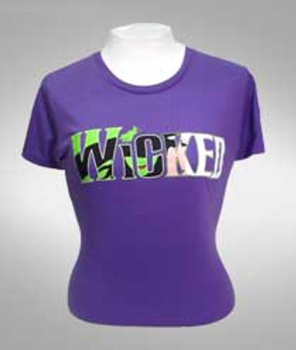 Wicked Witch Logo Tee - Ladies