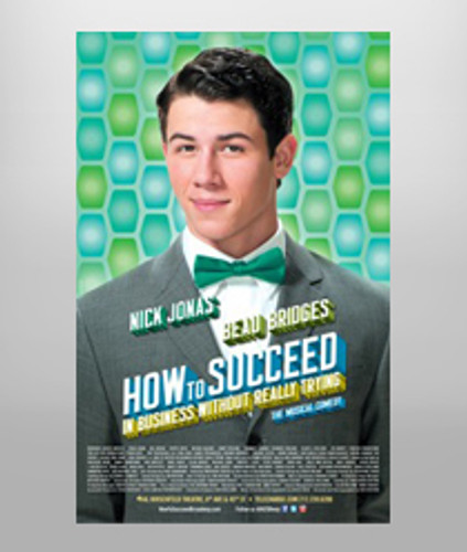 How to Succeed...Poster - Nick Jonas