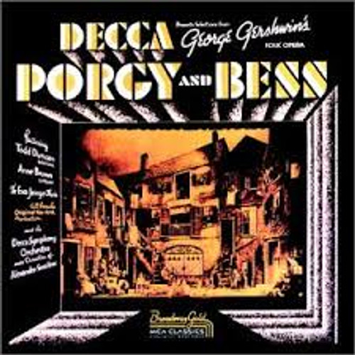 Porgy and Bess Cast Recording CD