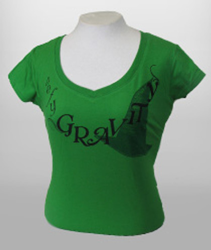 Wicked Green Defy Tee - Ladies