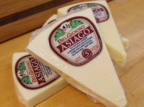 Asiago, aged 5mo, 12oz