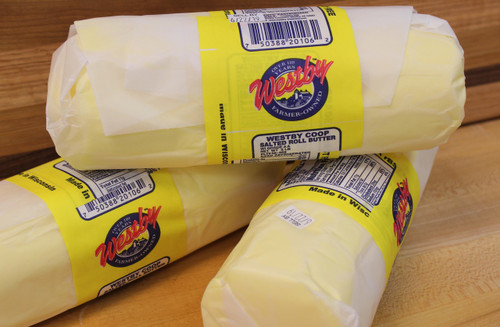 Westby Creamery, rolled butter