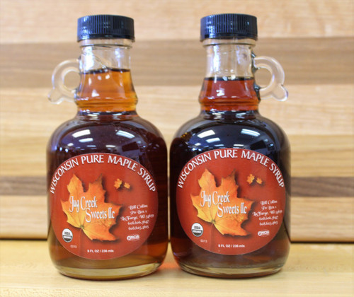 Maple Syrup, 8oz glass btl