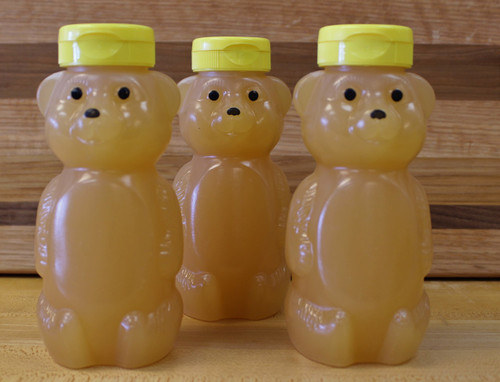 Raw Honey, bear, 12oz