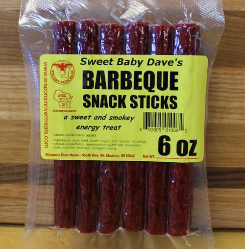 BBQ snack sticks