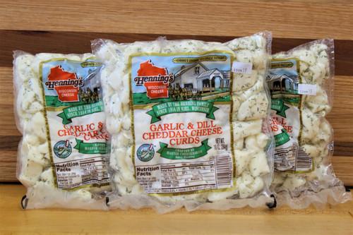 Garlic & Dill Cheese Curds