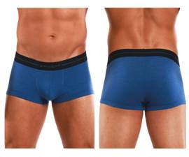 554568-400 Papi Men's Feel It Brazilian Trunks Color Blue