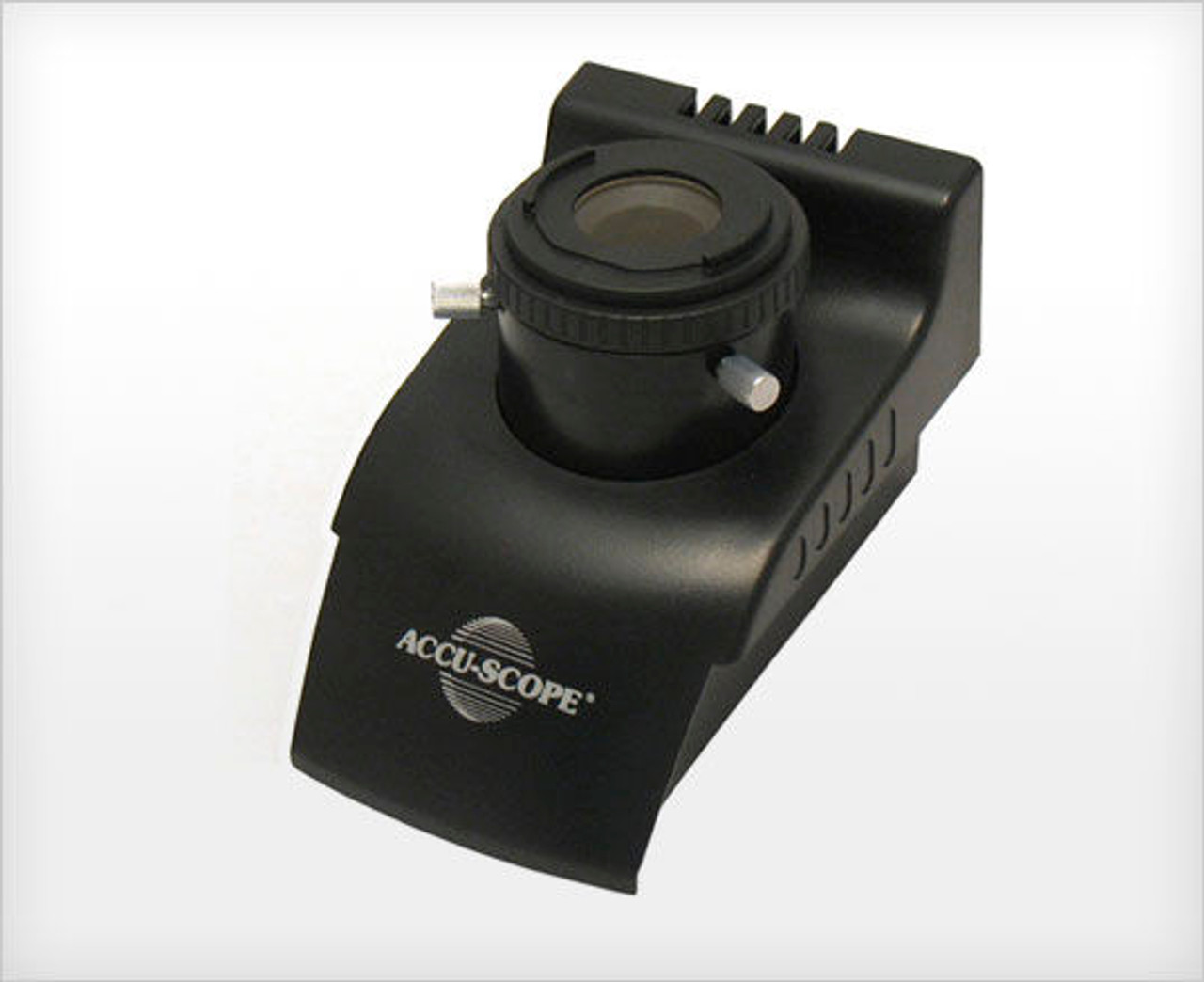 The 3012 microscope series from ACCU-SCOPE features an E-Plan Achromat Infinity objective.