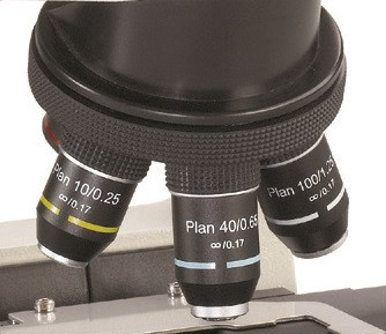 Accu-Scope Plan Objectives For 3012 / 3013 Microscope Series