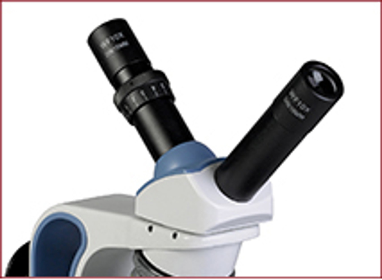 Options are available for dual inclined or inclined/vertical teaching heads. These make excellent options for use with HD, digital or eyepiece cameras.