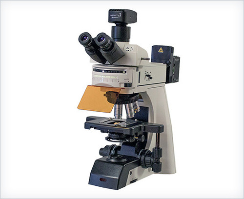 ACCU-SCOPE EXC-500-T with ScopeLED Fluorescence Illuminator & Lumenera® Camera