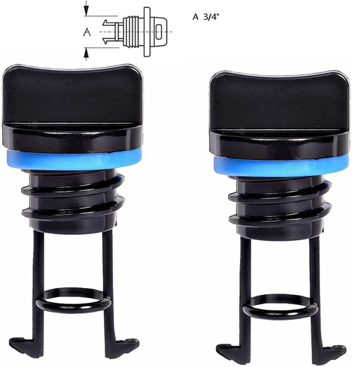 H2o Quality Kayak/Boat Drain Plug Pack Of Two