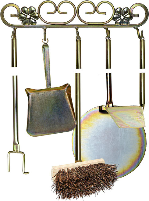 Wood-fired Pizza Oven Cleaning/Cooking Tool Set