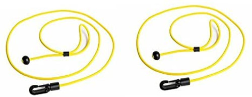 Heavy Duty Monoflex ™Shock Cord Paddle/Rod Leash Kit 2 Pack YELLOW