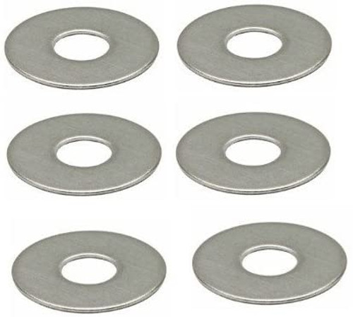 H2o A2 stainless steel M6 20mm penny washers Pack 6