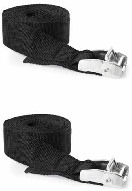 Heavy Duty 25mm x 5m Cam Tie Down Straps (Per Pair)
