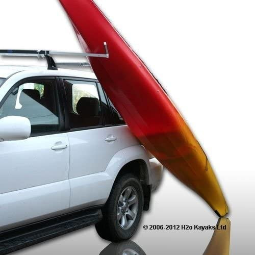 RUK Sports Sliding Kayak Roof Rack Load Assister…