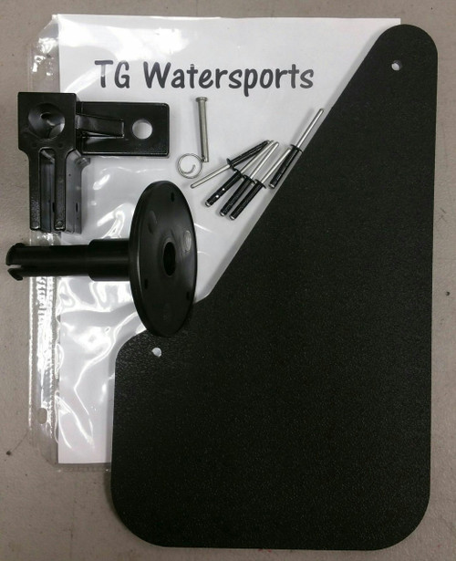 Sun Dolphin & Water Wheeler Pedal Boat Rudder  Assembly Kit